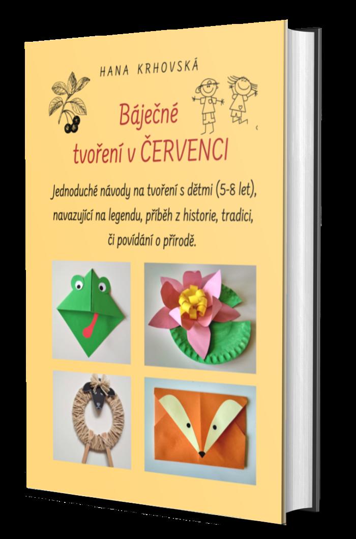 E-book Báječné tvoření v ČERVENCI