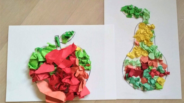 podzimní tvoření - ovoce 7