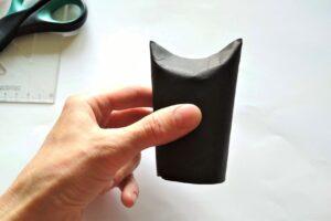 netopýr z ruličky od toaletního papíru