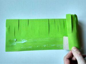 sněženky z papíru