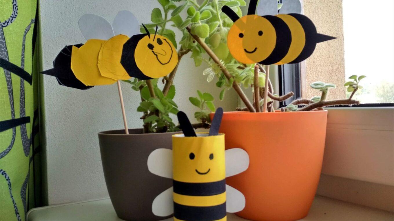 včela tvoření